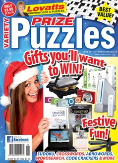 Variety Puzzles 56 Christmas cover