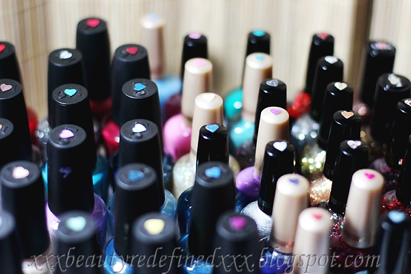 BeautyRedefined by Pang: Clever & Cheap Nail Polish Organizing Idea