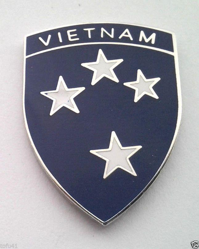 ***23rd AMERICAL DIVISION VIETNAM***  Military Veteran US ARMY Hat Pin P62471 EE