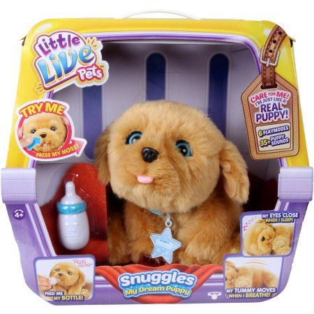 ***FAST TRACK*** LITTLE LIVE PETS SNUGGLES MY DREAM PUPPY - Walmart.com