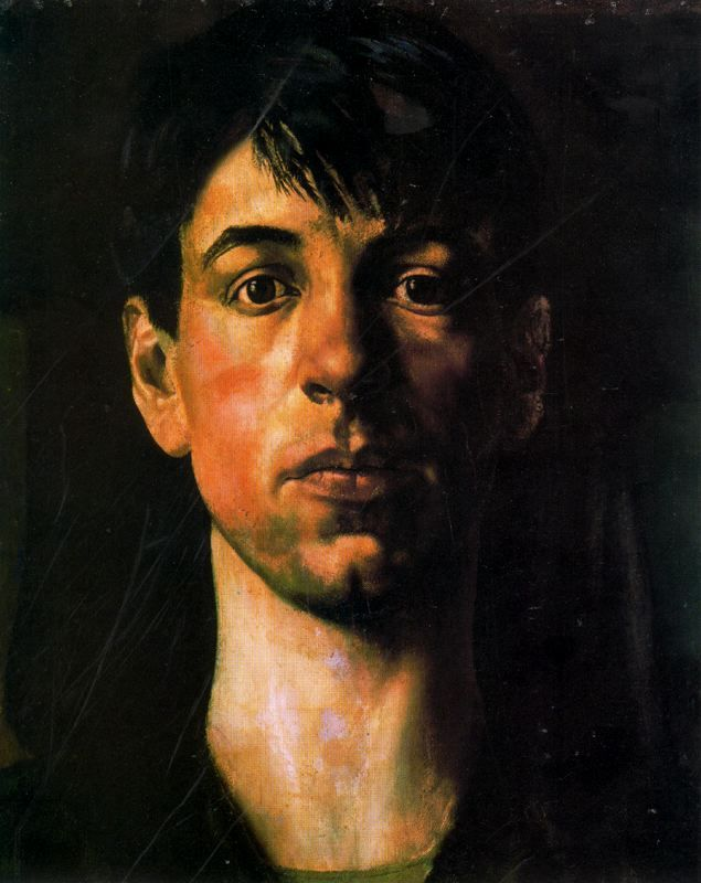 Stanley Spencer (British 1891–1959) Self-portrait, 1914. Tate Gallery, London, UK. [Neo-Romanticism]