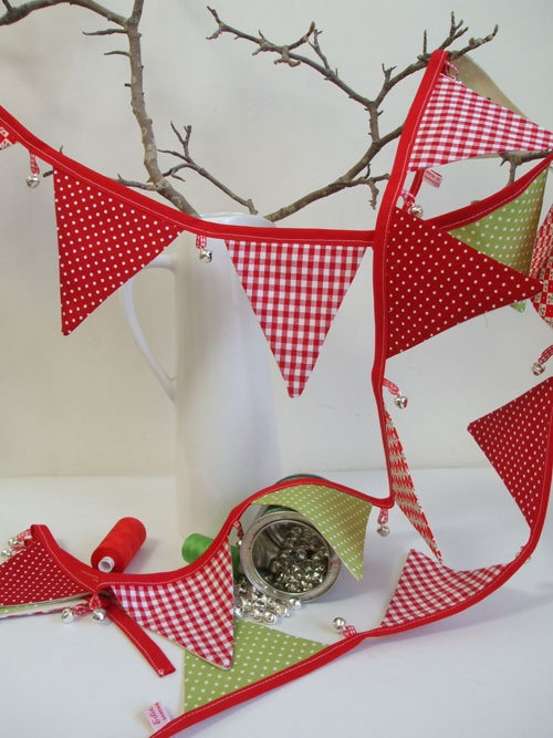 Jingle Bell Christmas bunting £25.00