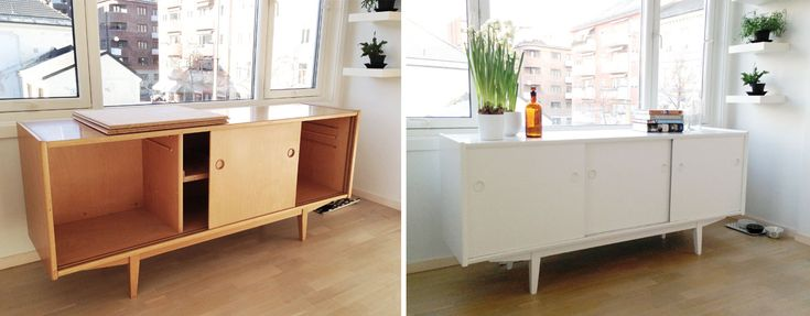 La oss snakke om å male møbler