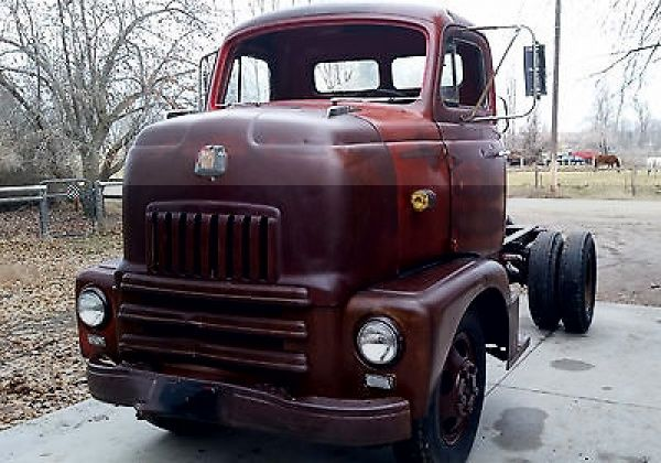 1950 International COE | Klassic Trucks | Pickup trucks ...