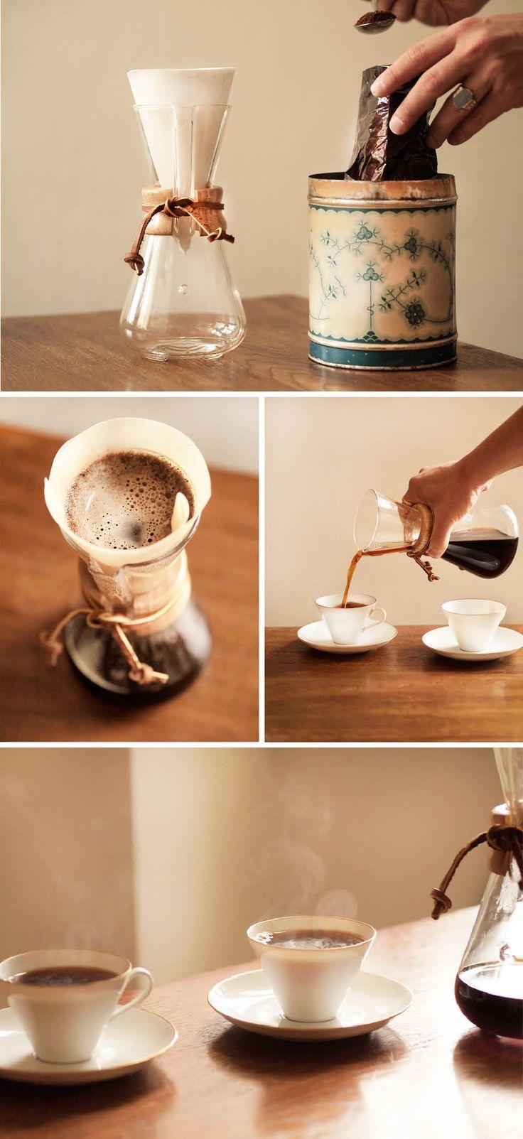 slow drip coffee  chemex musla coffee snobs