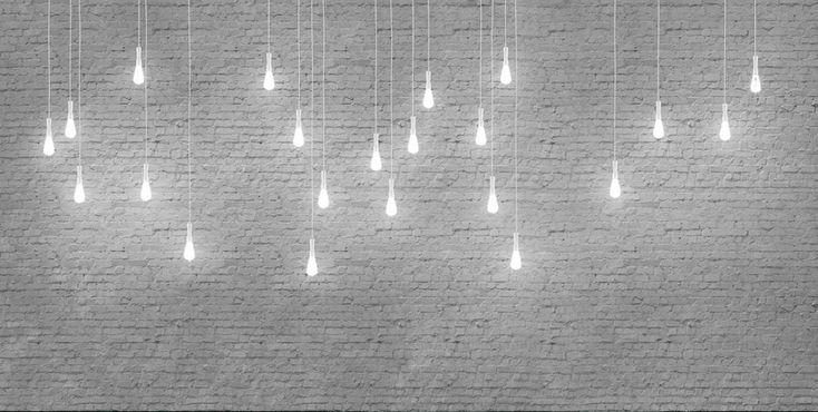 Oltre 25 fantastiche idee su mattoni bianchi su pinterest for Carta da parati stile industriale