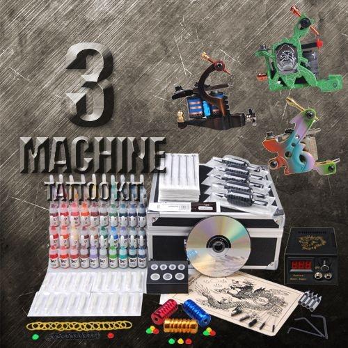 3 Professional Tattoo Machine Kit