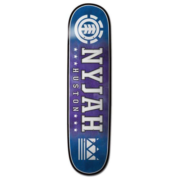 Element Mens Element Nyjah Ashbury Twig 7.625 Deck Pro Model: Njah Huston