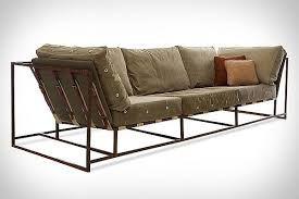 Image result for steel frame sofa