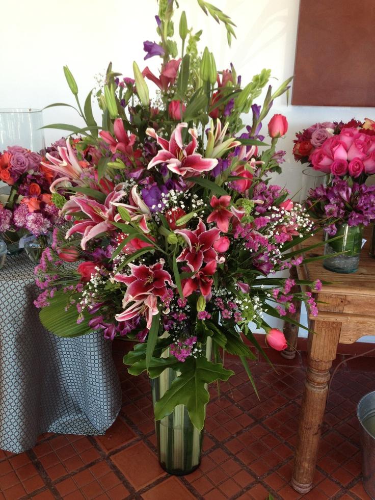 Arreglo floral para boda