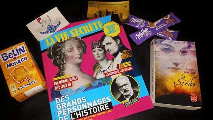 Box de Juin Thème : l'Histoire de France