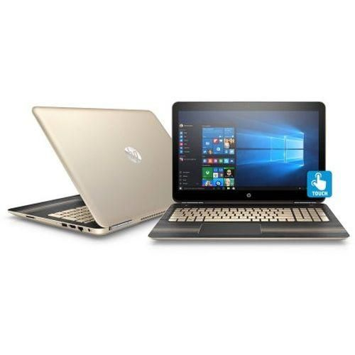"Gold HP Pavilion 15.6"" Touch Screen Laptop with Turbo Intel Core i5 Processor 8gb RAM 1TB HDD Win 10 https://www.wilcarcompany.com/products/hp-pavilion-15-6-touch-screen-laptop-with-intel-core-i5-processor?variant=23644083011"