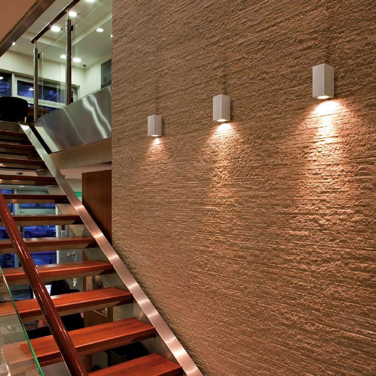 VEGA - Single/ double emission wall spotlight, ideal for the lighting of entrances, arcades, buildings, columns. #LED #light_e_design #design #illumination #lamp #lightdesign #lighting #lamp #pendant #iluminacion #decor #office #decoracion #lampara