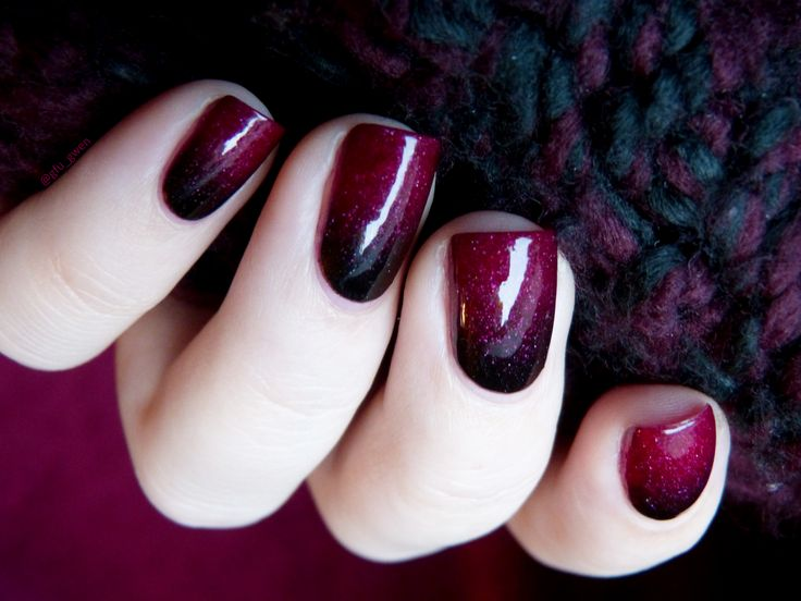 nailstorming saint valentin, Paint it Black Enchanted ...