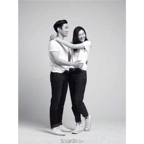 Siwon | Liu Wen | Fashion | Couple | Love | Relationship