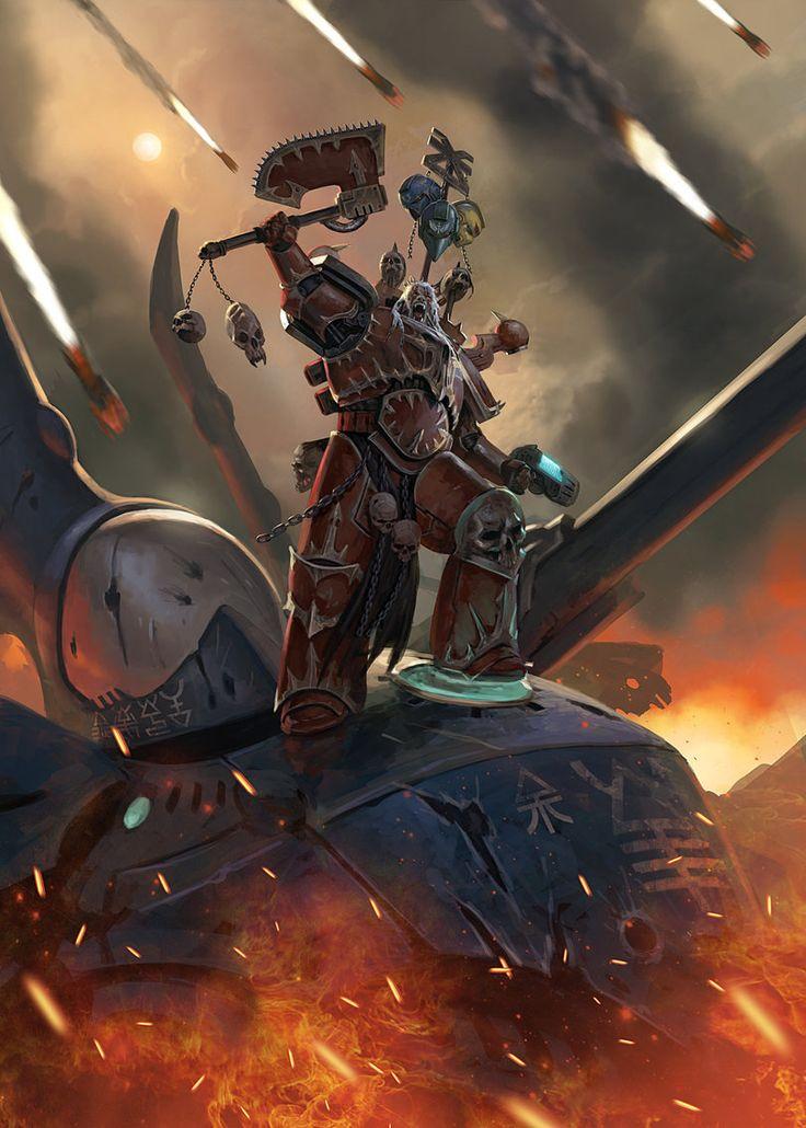 The Gate - Warhammer 40K:Emperor&#39-s Chosen by jubjubjedi.deviantart ...