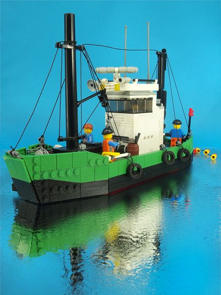 legos photo gallery | LEGO Express • Boat on Brickshelf Gallery