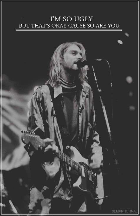 Favorite Nirvana songs: All Apologies Come As You Are Smells Like Teen Spirit  Lithium