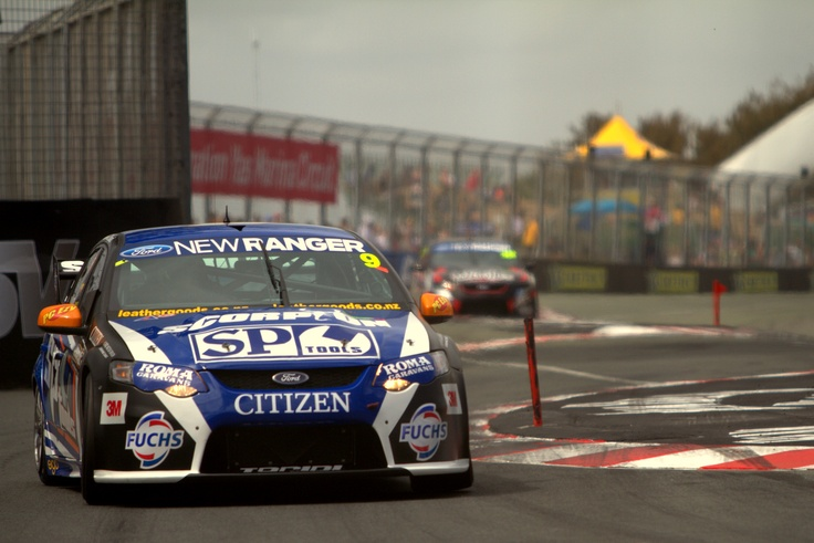 Shane Van Gisbergen giving his Stone Brothers Racing Ford Falcon a good go coming out of the back beach chicane during qualifying for 2011 Official V8 Supercars Gold Coast 600. Photo by Craig Coomans ©. Feel free to share, simple ensure you credit the photo to me.