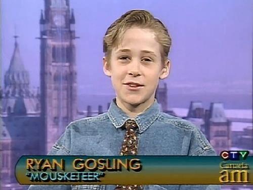 "Ryan Gosling ""Mousketeer"" (1991)"