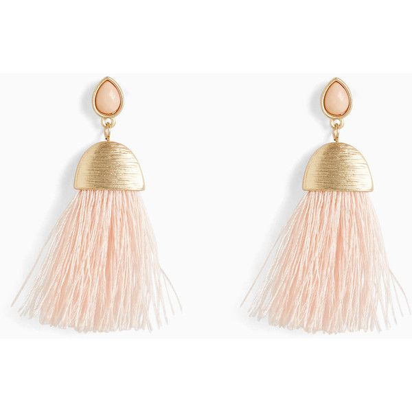 Torrid Tassel Hanging Earrings (168.605 IDR) ❤ liked on Polyvore featuring jewelry, earrings, metal earrings, fringe earrings, gold tone jewelry, gold tone earrings and tassel jewelry