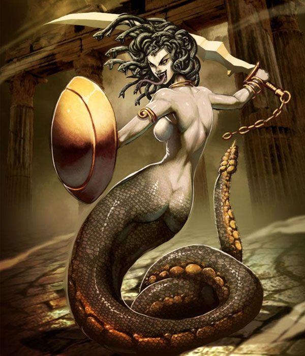 #Amazing Digital #Arts Based on #Mythological Characters
