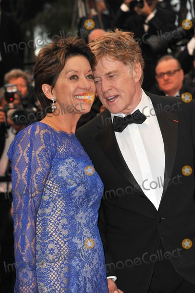 """Robert Redford & wife Sibylle Szaggars at gala premiere for his movie """"All Is Lost"""" at the 66th Festival de Cannes. May 22, 2013  Cannes, France Picture: Paul Smith / Featureflash"""