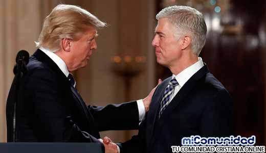 Senado de Estados Unidos confirma al juez Cristiano nominado por Trump a la Corte Suprema
