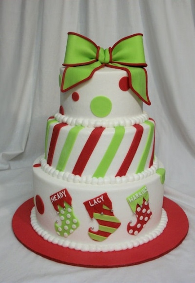 This is definitely going to be my mom's birthday cake this year! She was born on Christmas day!