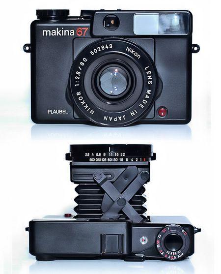 Plaubel Makina 67, Wish I had one of these!