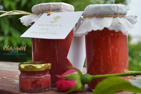 Illatos és ízletes: így készül a rózsadzsem!