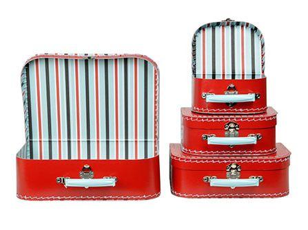 Cardboard valise