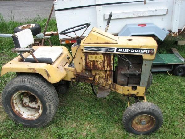 Allis Chalmers Garden Tractors : Images about garden tractors allis chalmers