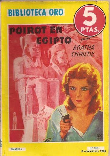 Poirot en Egipto. Molino. Biblioteca Oro (2). 158. 1944