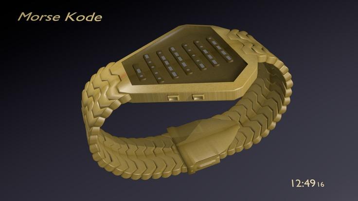 Morse Kode Watch 04