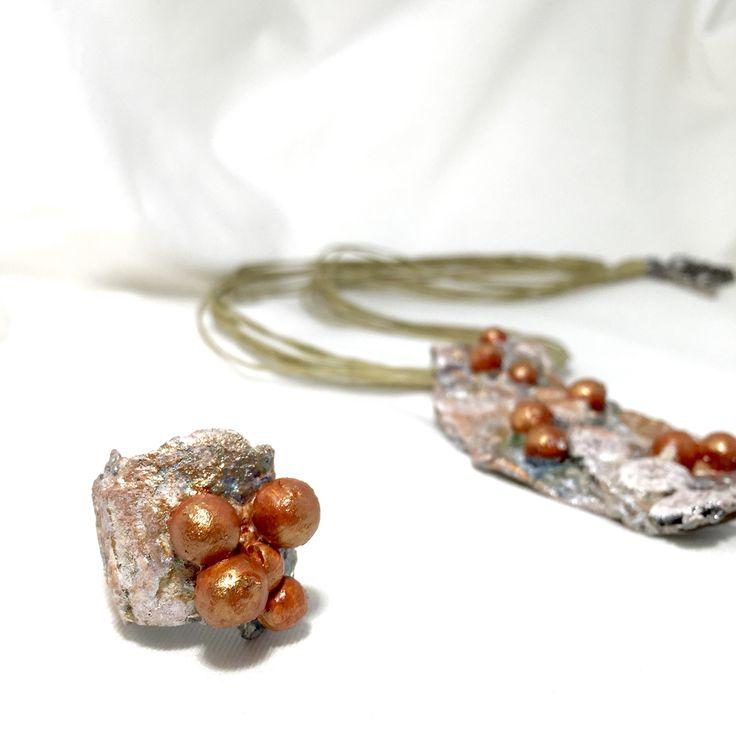 Powertex jewelry