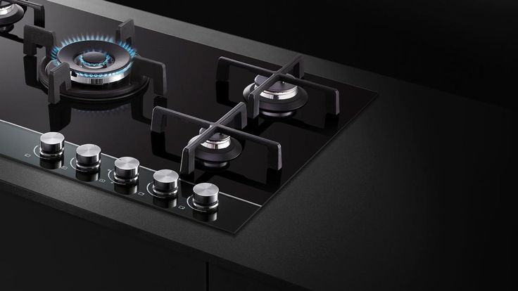CG905DNGGB1-90cm Gas on Glass Cooktop