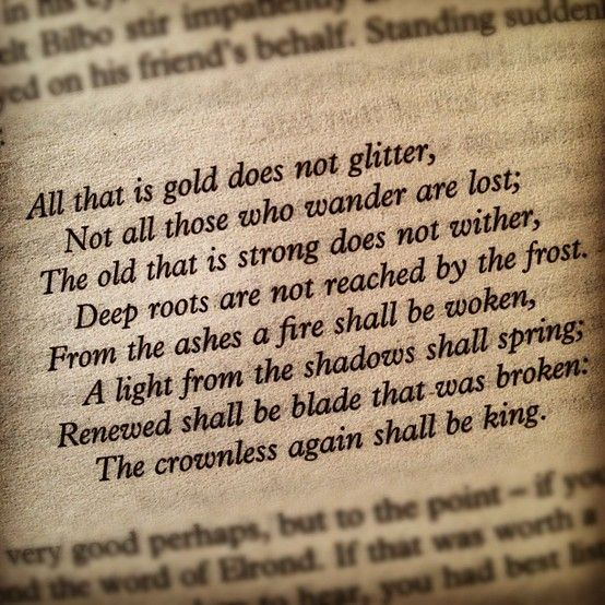 J.R.R. Tolkien. The Lord of the Rings thing is really worthwhile.