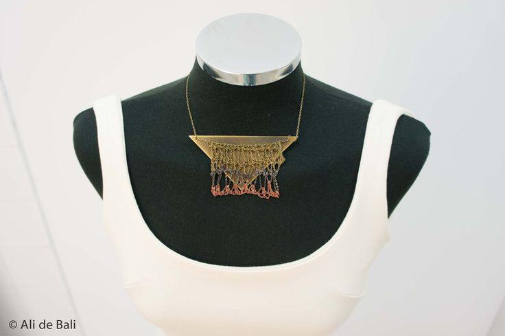 Diseño a medida Julio 2013. Collar Amaia Biain.