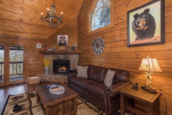 Makin Memories Luxury 1 Bedroom Pigeon Forge Cabin Rental Remodeling Inspiration Cabin Decor Cabin Rentals