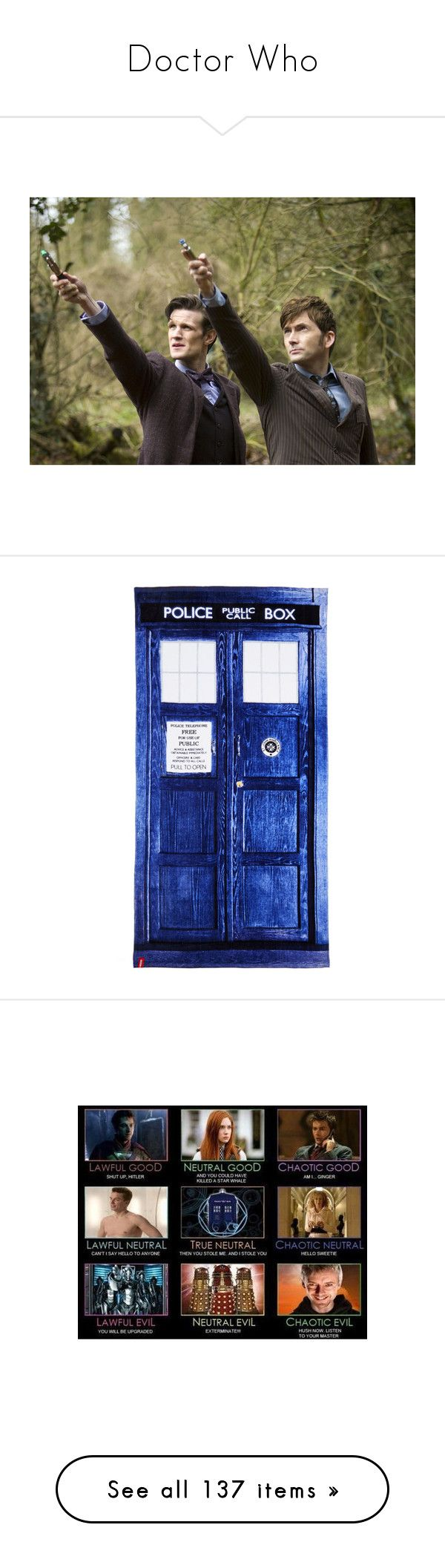 """Doctor Who"" by amylightwood ❤ liked on Polyvore featuring home, bed & bath, bath, doctor who, towel, fillers, extra, backgrounds, blue and cotton"