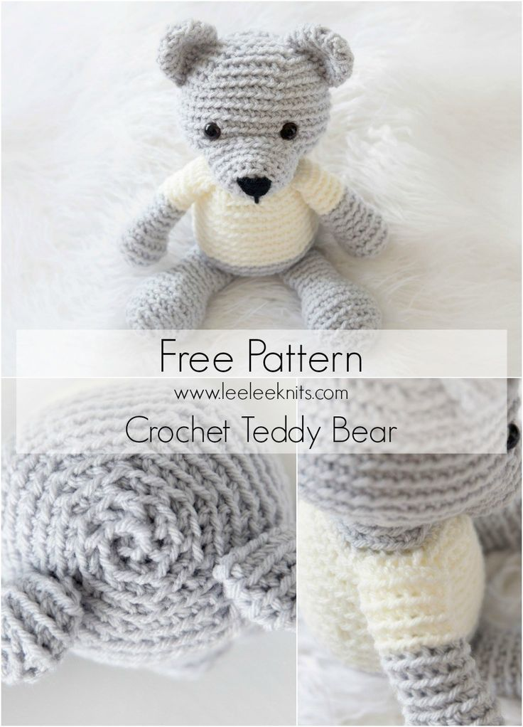 Crochet Teddy Bear – Free Pattern!