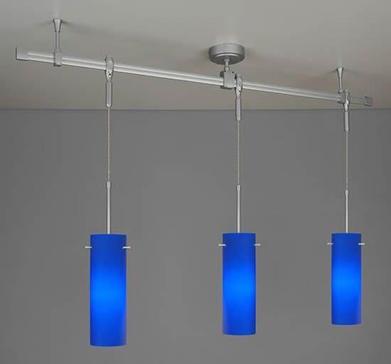 monorail pendant lighting systems. bruck lighting 350kit blu2 blue zonyx pendant track kit - monorail systems brand discount n