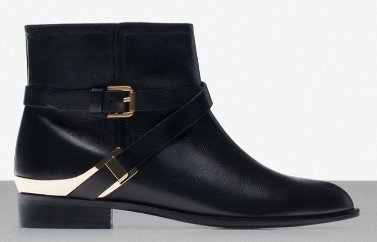 Uterqüe boots  http://www.uterque.com/fr/fr/chaussures/voir-tous/bottines-boucles-c77002p4515007.html?color=040