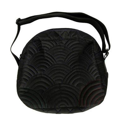 lukola handmade // Pikowane Wzgórza - fason kuferkowy - prototyp // Quilted Hills - coffer bag - prototype