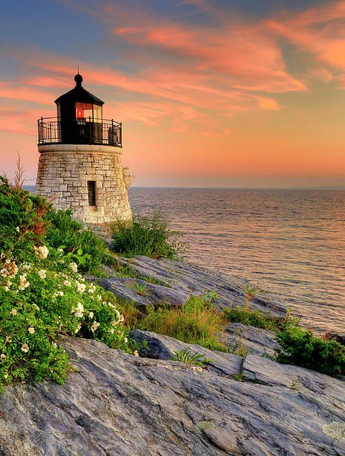 Castle Hill Lighthouse - Rhode Island