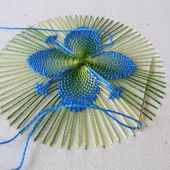 Nanduti - a wonderful, small, intricate surface weaving technique