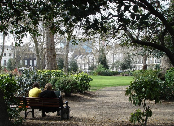 Bloomsbury - Bedford Square, one of Bloomsbury's garden squares