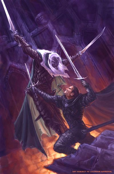 Drizzt Do'Urden and Artemis Entreri