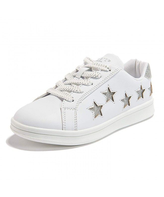 Weestep Toddler//Little Kid Girl Middle Top Back Bow Strap Sneaker